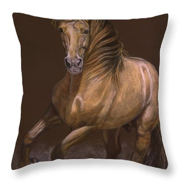 Espiritu Espanol Throw Pillow by Sheri Gordon