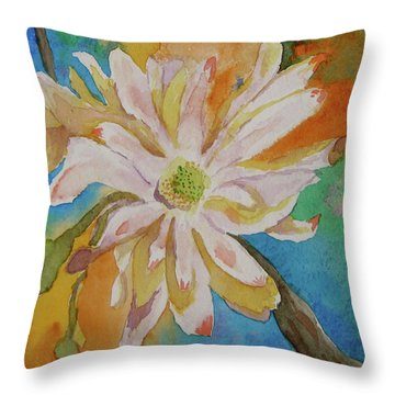 Essence Throw Pillow by Beverley Harper Tinsley