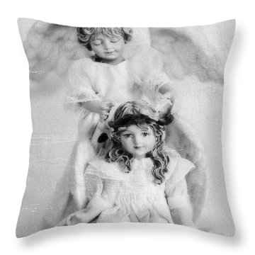 Throw Pillow featuring the photograph Essence By Tom Druin by Artists For Altered Cats Cyprus