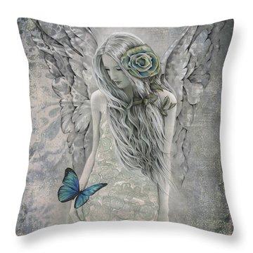 Essence Of Faith Throw Pillow