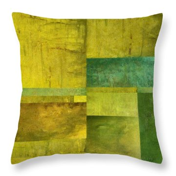 Essence Of Green Throw Pillow