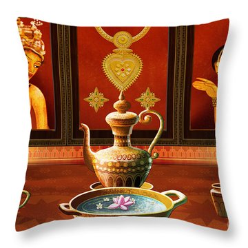 Essence Of Love Throw Pillow