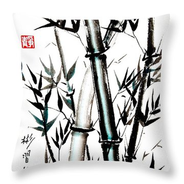 Essence Of Strength Throw Pillow