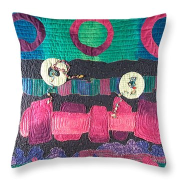 Essential Circles Throw Pillow