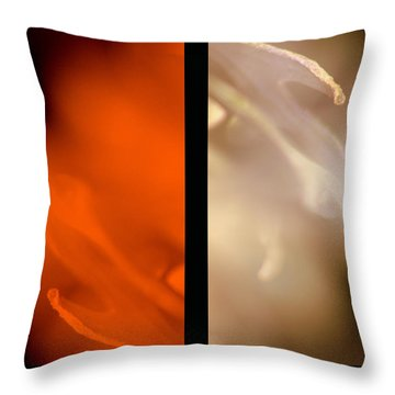 Essential Throw Pillow by Martina  Rathgens