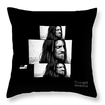 Estas Tonne's Face Throw Pillow