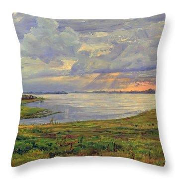 Estuary Polovinka Throw Pillow