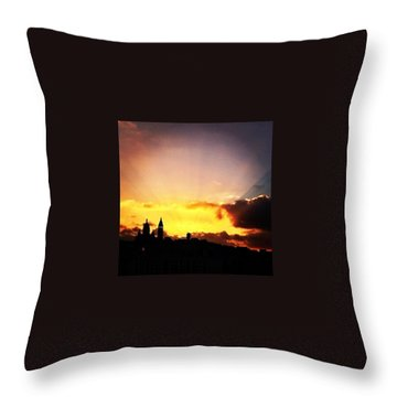 Paris Skyline Throw Pillows