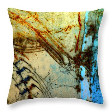 Etched In Time Throw Pillow by Lauren Leigh Hunter Fine Art Photography
