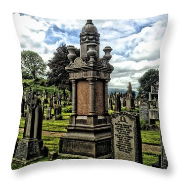 Eternal Throw Pillow