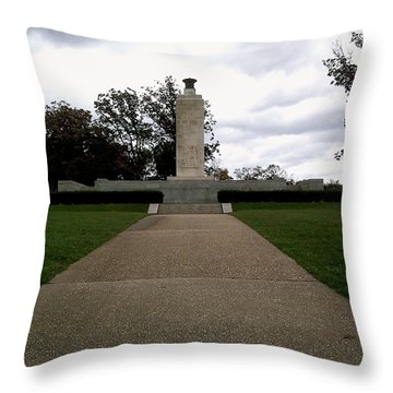 Eternal Light Peace Memorial Throw Pillow
