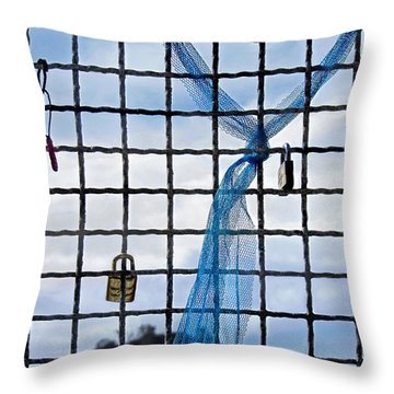 Throw Pillow featuring the photograph Eternal Love by Jennie Breeze