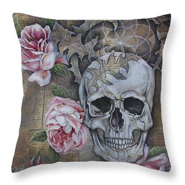 Eternal Throw Pillow by Sheri Howe