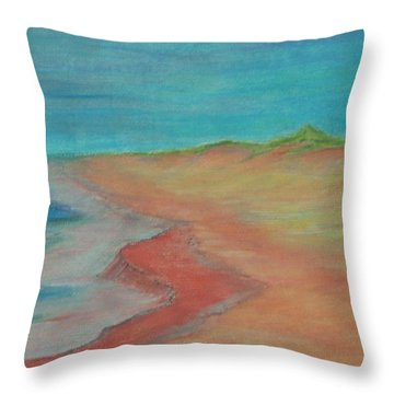 Eternal Tide Throw Pillow