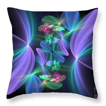 Ethereal Dreams Throw Pillow