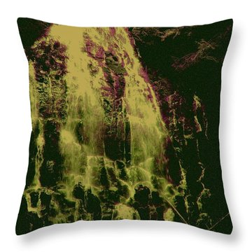 Ethereal Flow Throw Pillow