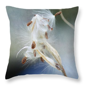 Ethereal Pod 4 Throw Pillow by Fraida Gutovich