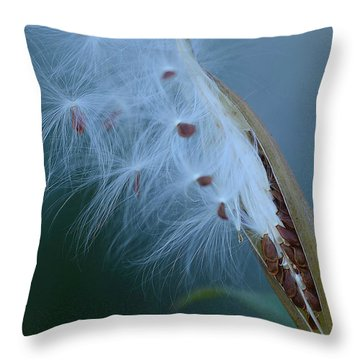 Ethereal Pod Throw Pillow