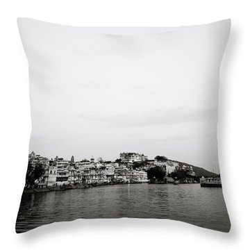 Ethereal Udaipur Throw Pillow