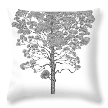 Eucalyptus  Throw Pillow