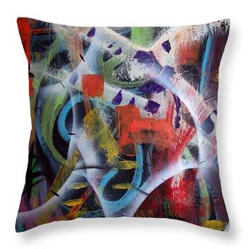 Euphoria Throw Pillow by Yul Olaivar
