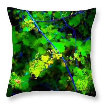 Euphoric Vine Throw Pillow
