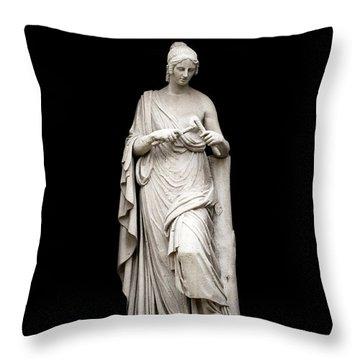 Throw Pillow featuring the photograph Euritmia by Fabrizio Troiani