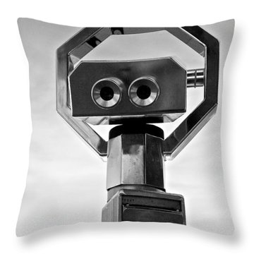 Throw Pillow featuring the photograph Euroscope by Colleen Williams