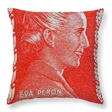 Eva Throw Pillow by Bill Owen