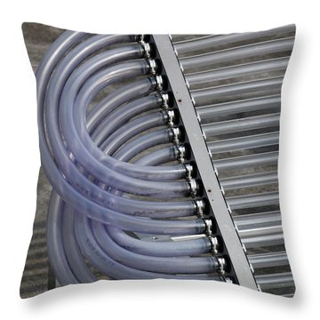 Evacuate Throw Pillows