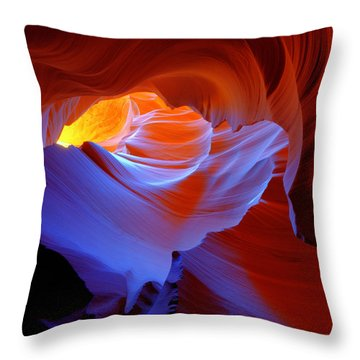 Throw Pillow featuring the photograph Evanescent Light by Dustin  LeFevre