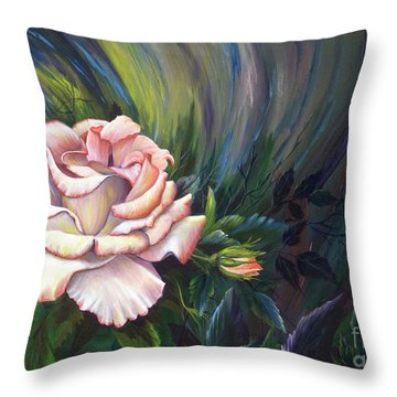 Evangel Of Hope Throw Pillow