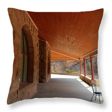 Evans Porch Throw Pillow