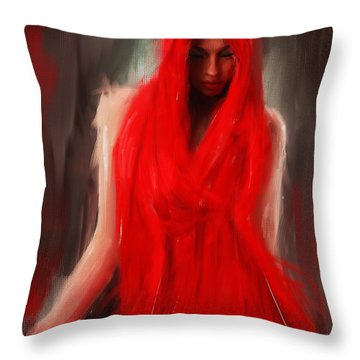 Eve Within Throw Pillow