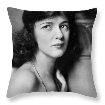 Evelyn Nesbit Throw Pillow by Granger