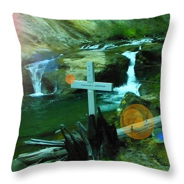 Even After The Ashes Love Remains  Throw Pillow by Jeff Swan