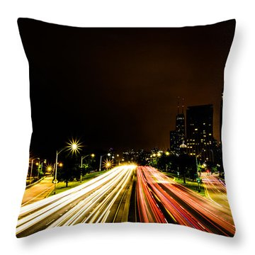 Even More Lsd I Think I'm Addicted Throw Pillow by Randy Scherkenbach