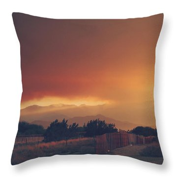 Even Now Throw Pillow by Laurie Search