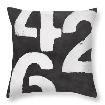 Even Numbers Throw Pillow