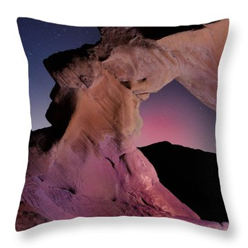 Evening Arch Throw Pillow by Rick Berk