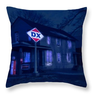 Evening At Roseville Throw Pillow