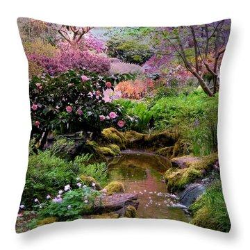 Evening Came Throw Pillow