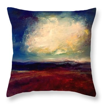 Evening Cloud Throw Pillow