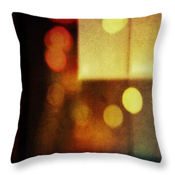 Evening Daydreams Throw Pillow