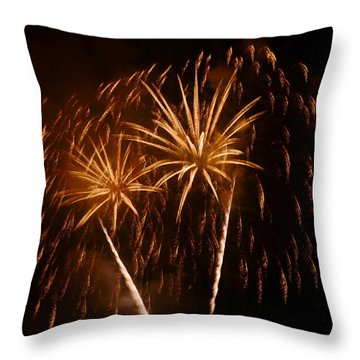 Throw Pillow featuring the photograph Evening In Paradise by Linda Mishler