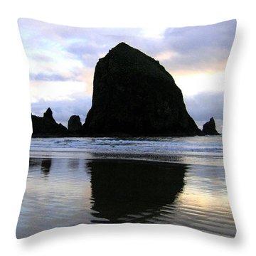 Evening Luster Throw Pillow