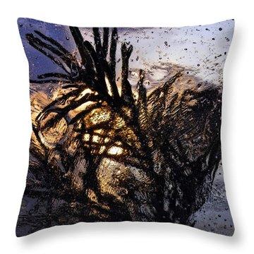 Evening Plant Throw Pillow