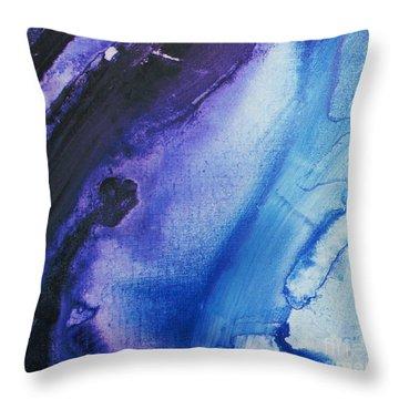 Evening Rain Throw Pillow