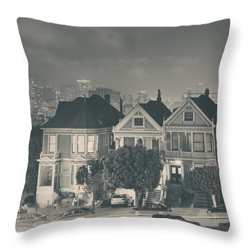 Evening Rendezvous Throw Pillow by Laurie Search
