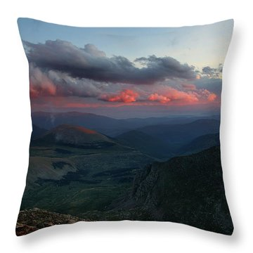 Evening Shade Throw Pillow by Jim Garrison